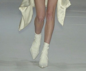 fashion, runway, and shoes image