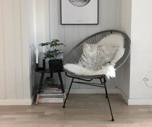 chair, decor, and decoration image