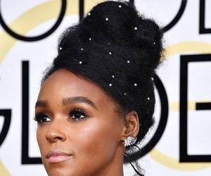 brown skin, natural hair, and afro hair image