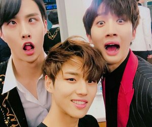 hui, hongseok, and pentagon image