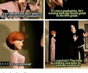 funny, lol, and The Incredibles image