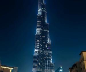Dubai, tower, and burj khalifa image