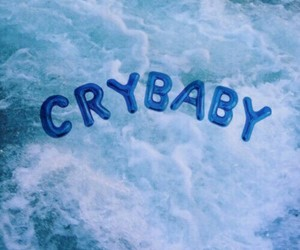 baby, blue, and cry image