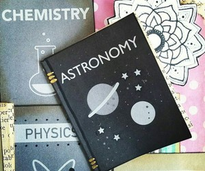 astronomy, chemistry, and school image