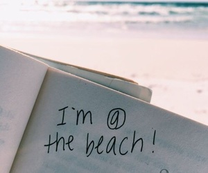 beach, goals, and summer vibes image