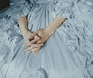 blue, princess, and victorian image