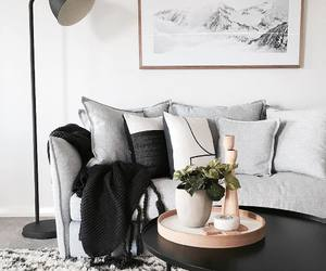 apartment, livingroom, and pillow image