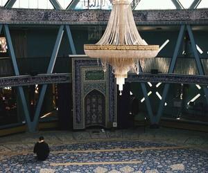 mosque, muslim, and prayer image