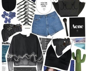 outfit, Polyvore, and crop top image