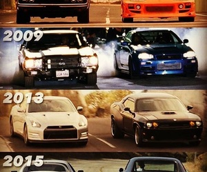 cars, years, and fast and furious image