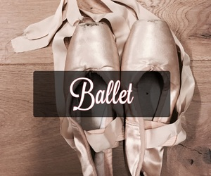 ballet, pretty, and balletshoes image