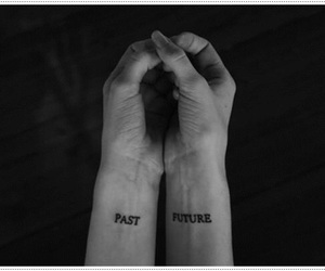 tattoo, past, and future image