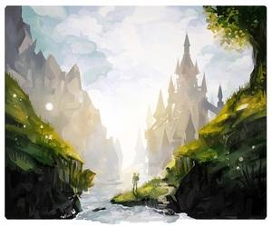 art, castle, and tofuvi image