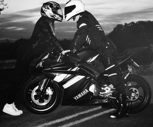 motorcycle couple pictures  93 images about motorcycle couples on We Heart It | See more about ...