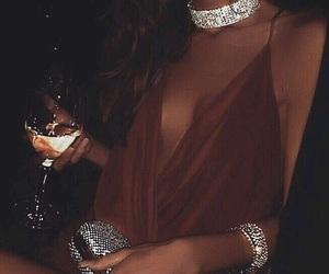luxury, dress, and diamond image