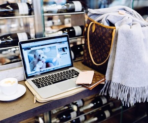 asos, blogger, and coffe image