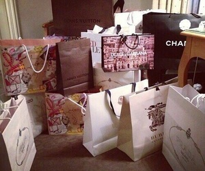 chanel, shopping, and Burberry image