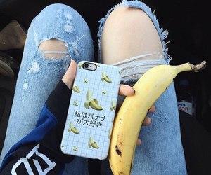 banana, japan, and tumblr image
