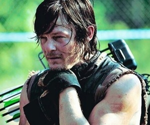 the walking dead, daryl dixon, and norman reedus image