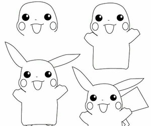 drawing and pikachu image