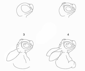 stitch and drawing image