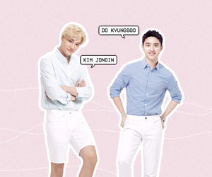 exo, kpop, and model image