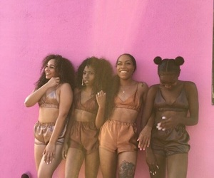 girls and melanin image