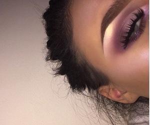 makeup, eyeshadow, and highlight image