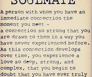 soulmate, quote, and love image