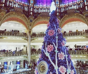 beautiful, christmas, and paris image