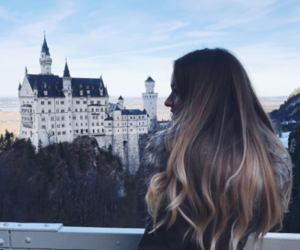 hair, hair color, and ombre hair image