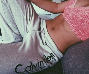 Calvin Klein, fit, and girl image