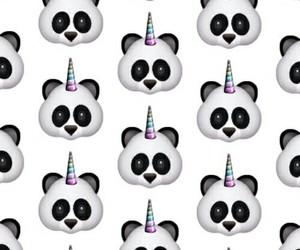 panda, unicorn, and wallpaper image