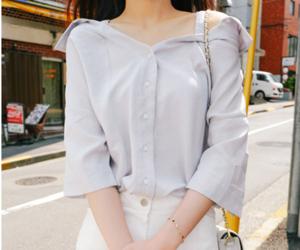 fashion, summer, and off shoulder image