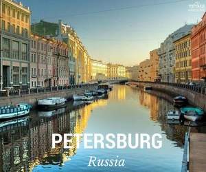 boats, petersburg, and city image