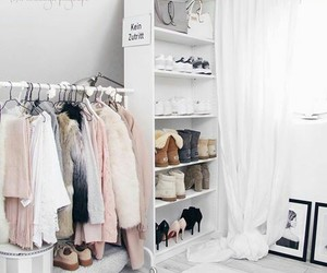 room, white, and love image