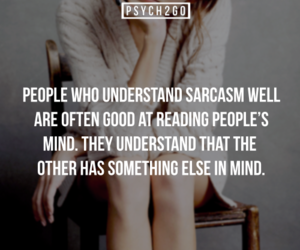 psychology, sarcasm, and facts image