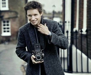 eddie redmayne, handsome, and smile image