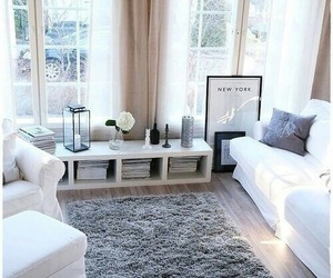 white, home, and room image