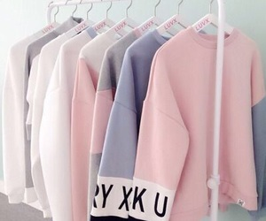 pink, pastel, and clothes image