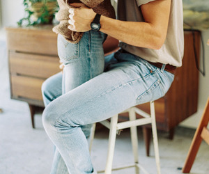 couple, Relationship, and jeans image