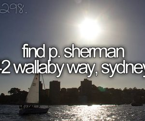 nemo, Sydney, and bucket list image
