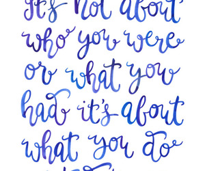 blue, inspiration, and quote image