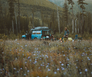 alone, boho, and camp image