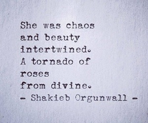 quotes, beauty, and chaos image