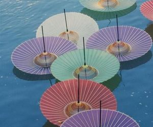 umbrella, japan, and colorful image