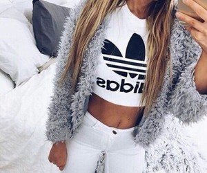 adidas, girl, and beautiful image