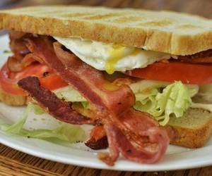 sandwich, food, and yum image