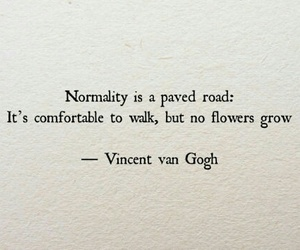 deep, vincent van gogh, and quote image