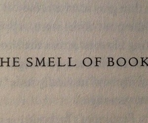 book, smell, and quotes image